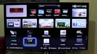 Samsung Smart TV Explained and Hands On