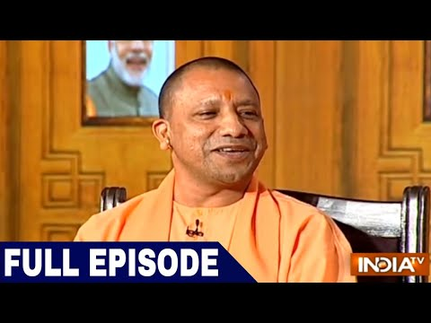 UP CM Yogi Adityanath in Aap Ki Adalat 2018 Samvaad on 1 Year of Uttar Pradesh Govt