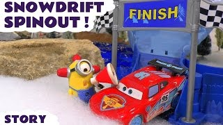 Disney Cars Toys McQueen Story with Minions and Hot Wheels Avengers Hulk & Iron Man Kids Cars TT4U