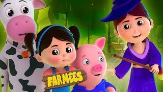 Witch is Out | Halloween Nursery Rhymes For Children | Spooky Cartoons