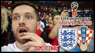 ENGLAND vs CROATIA! SEMI FINAL! EXTRA TIME HEARTBREAK ! - RUSSIA WORLD CUP 2018