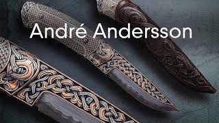 André Andersson, forgeron, graveur et coutelier d