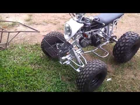 ทดสอบรถ ATV ไทยประดิษฐ์ เขาค้อ ATV invention Thailand.