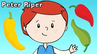 P Is for Pepper | Peter Piper and More | Baby Songs from Mother Goose Club!