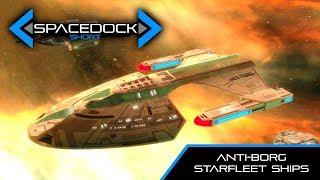 Star Trek: Anti-Borg Starfleet Ships - Spacedock Short