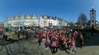 360-Grad-Video: Abi-Spaß statt Abi-Krieg in Siegen (NRW)