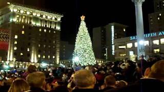 2008 Macy's Xmas Tree Lighting