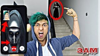 DO NOT FACETIME THE NUN AT 3AM!! *OMG SHE ACTUALLY CAME TO MY HOUSE*