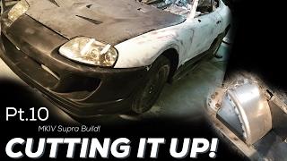 Pt.10 | Mkiv Supra Build | Bodykit | Engine Bay Tubs!
