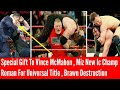 Download Video Download Brock Vs Brawn Vs Kane -RAW 25 Anniversary | Stone Cold Gift To Vince | Roman in Universal Title pic 3GP MP4 FLV