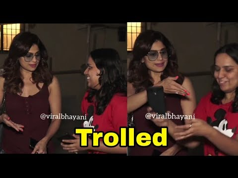 Shilpa Shetty sis Trolled for her M!sB€hav!our with a Lady Fan |Shamita Shetty