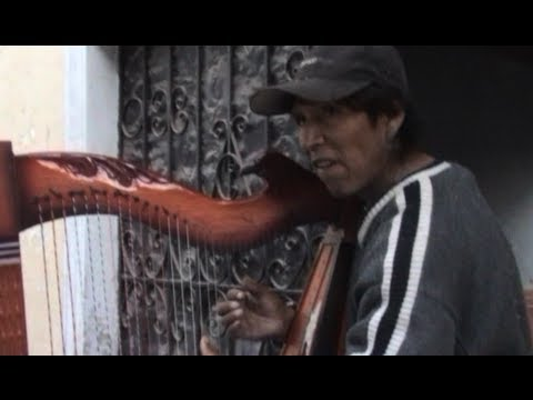 ③ Guillermo Ascensio Arpista Harpist Harfenist Canta Peru