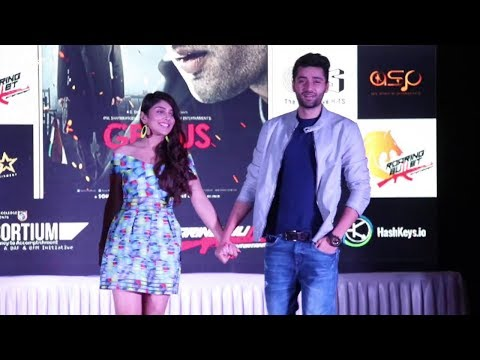 Xxx Mp4 Utkarsh Sharma And Ishitha Chauhan At National College Festival For GENIUS Movie Promotion 3gp Sex