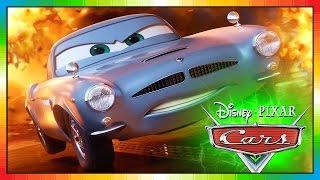 Cars 2 - FRANÇAIS - Les bagnoles 2 - Flash McQueen - Fin McMissile - the cars part 2 (Game Intro)