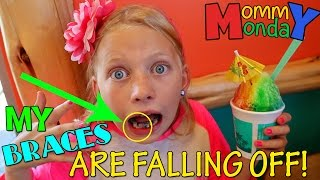 MY BRACES ARE FALLING OFF! || Mommy Monday