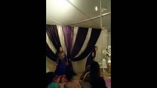 Engagement dance for Naseem and Imran