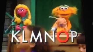 Sesame Street do the alphabet