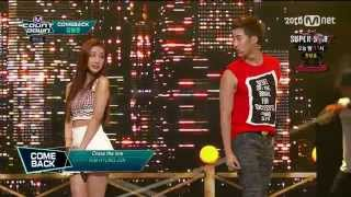 (150820) Kim Hyung Jun - Cross the line (Feat. Kebee of Eluphant) @ Mnet M! Countdown