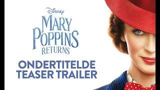 Mary Poppins Returns   Ondertitelde Teaser Trailer   Disney BE