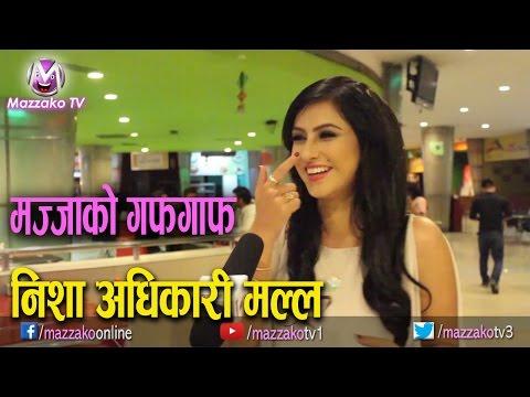 Mazzako Guff with Nisha Adhikari Malla    निशा अधिकारी 'मल्ल'    Mazzako TV
