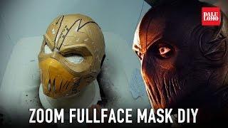 diy zoom mask part 1 template & cardboard (free pdf