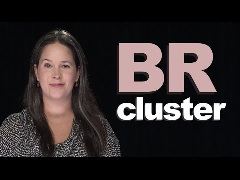 How to Make the BR Consonant Cluster
