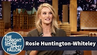 Rosie Huntington-Whiteley Teaches Jimmy Cockney Slang