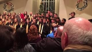 PLMS Black & Gold Sings 12 Days of Regifted Christmas