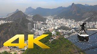 4K | Rio de Janeiro, Brazil in Ultra High Definition
