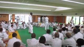 Stage judo à REIMS avec Tsunoda GO