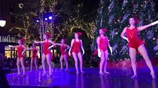 Santana Row Tree Lighting 2017 by Harker Varsity Dance