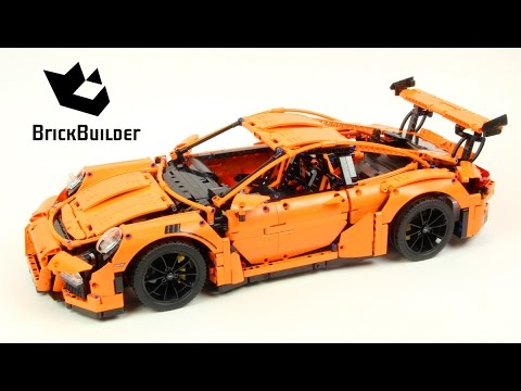 Lego Technic 42056 Porsche 911 GT3 RS Lego Speed build