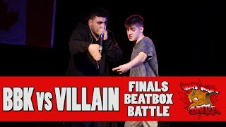 VILLAIN (USA) vs BBK (CAN) - GNB 2017 - BEATBOX SOLO FINALS
