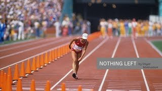 Gabriela Andersen-Schiess 1984 Olympics - Nothing Left by Unger Motivation
