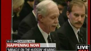 """US Airways Pilot Capt. """"Sully"""" Sullenberger Speaks To Congress: """"My Pay Has Been Cut By 40%"""""""