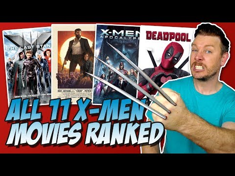 Xxx Mp4 All 11 X Men Movies Ranked Worst To Best W Deadpool 2 3gp Sex
