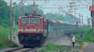 Electrifying Compilation of Premium Trains & Numerous Superfast Express Trains of Indian Railways