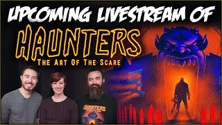 Announcing a Live Viewing Party of HAUNTERS!
