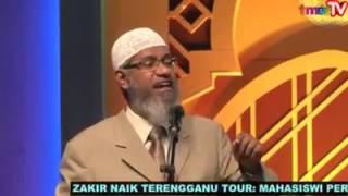 Video Dr Zakir Naik Terengganu   Pelajar Perubatan Termalu Dengan Soalan Provokasi !