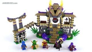 LEGO Ninjago Enter the Serpent review! set 70749