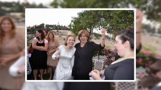 Leora and Yair's wedding in Jerusalem