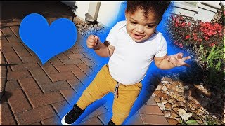 KYRIE IS OFFICIALLY WALKING | THE PRINCE FAMILY