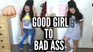 Good Girl to Bad Ass! | Mini Lookbook on How To Style Caseco Blu-Toque Hat! | BeautybyGenecia