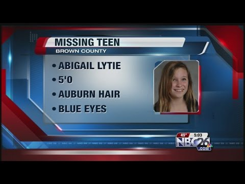 Brown County deputies search for endangered 13 year old girl