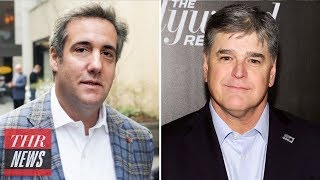 Fox News Stands by Sean Hannity After Trump Lawyer Reveal | THR News