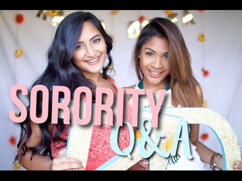 #HowToSorority Sorority Q&A