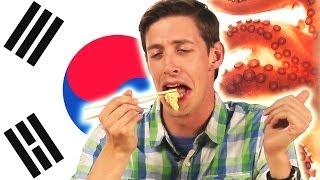 Americans Taste Exotic Asian Food