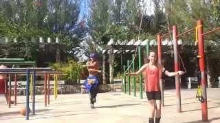 street workout jump jump super