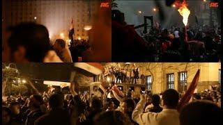 حال البيوت والشوارع المصرية أثناء ثورة 25 يناير...