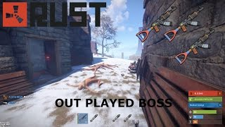 Rust - Outnumbered PvP Plays / Massive Group Fights